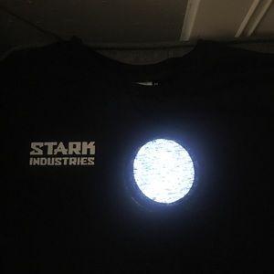 Stark Industries Light Up LED Shirt